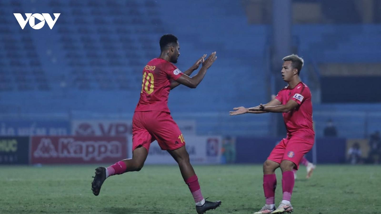 Sài Gòn FC tiến gần tấm vé dự AFC Cup 2021