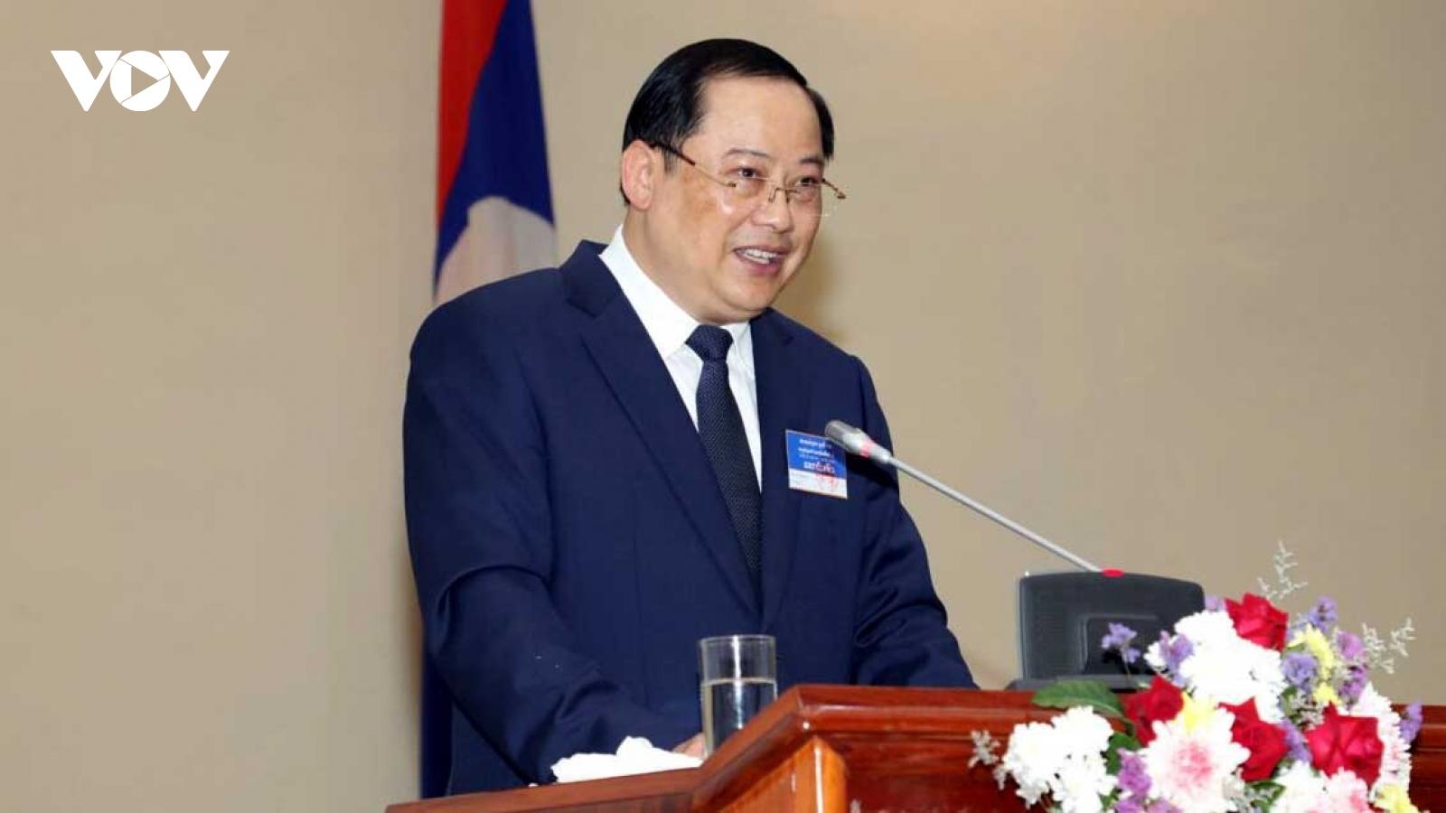 """Lào hút đầu tư nước ngoài bằng chính sách """"3 mở"""""""