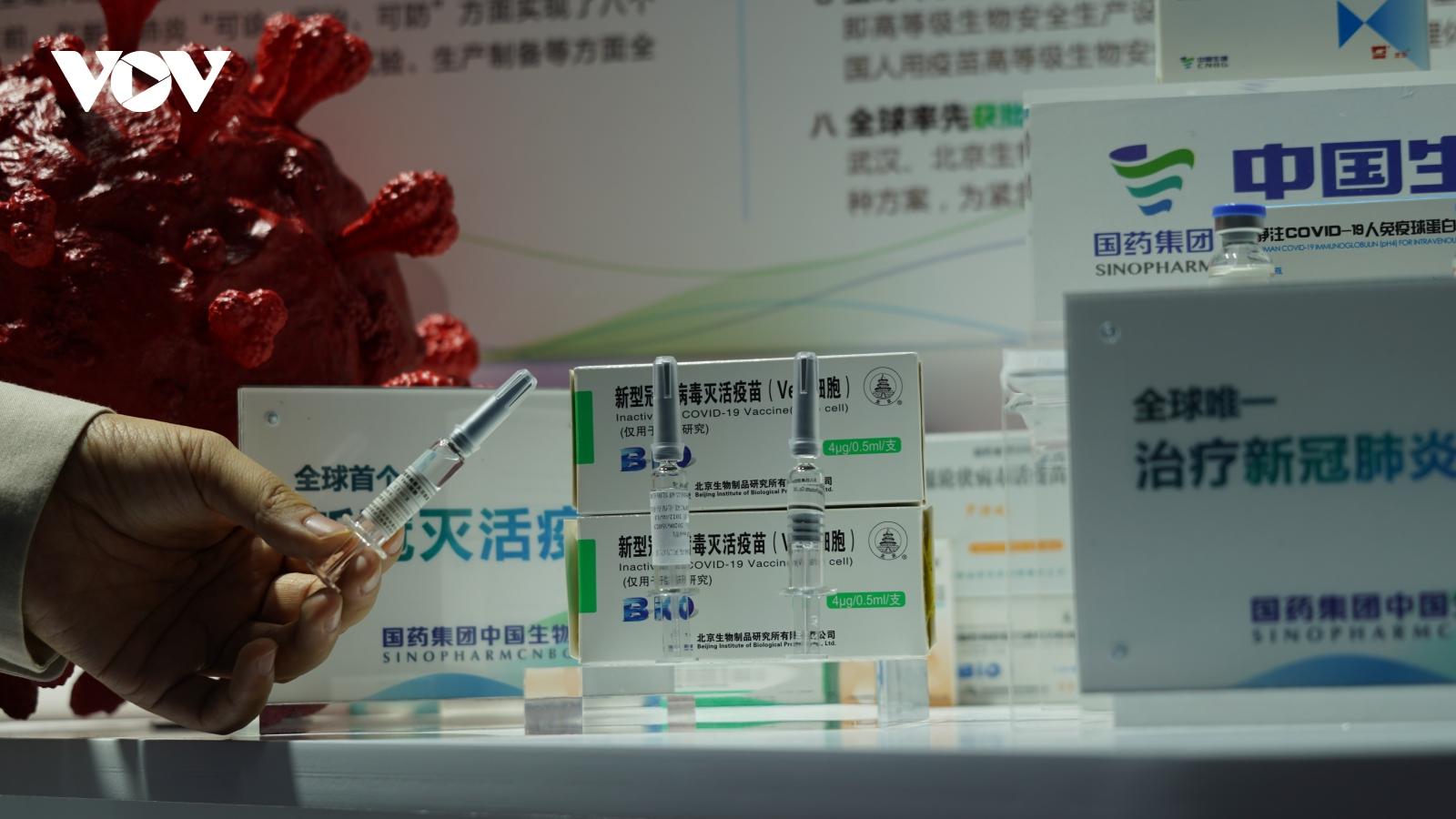 Vaccine Covid-19 đầu tiên của Trung Quốc nộp đơn đưa ra thị trường