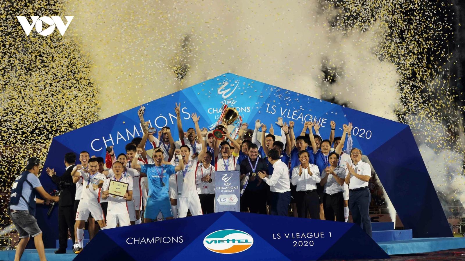 """Nguyên Mạnh: """"Viettel xứng đáng vô địch V-League 2020"""""""