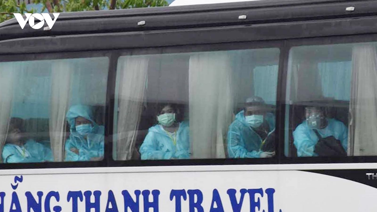 Đà Nẵng đón 840 công dân về nước tránh dịch Covid-19