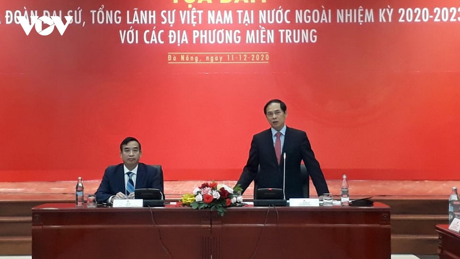 Cơ quan Đại diện Ngoại giao ở Việt Nam cùng các địa phương đẩy mạnh hội nhập quốc tế