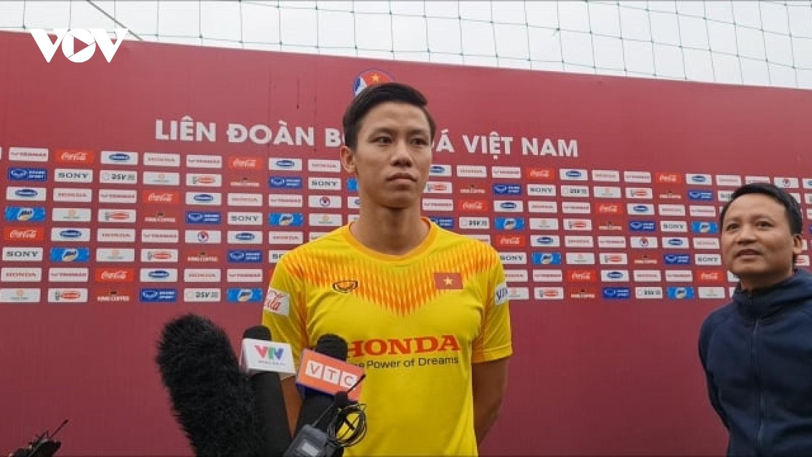 Quế Ngọc Hải tự tin cao độ trước trận đấu với ĐT Malaysia