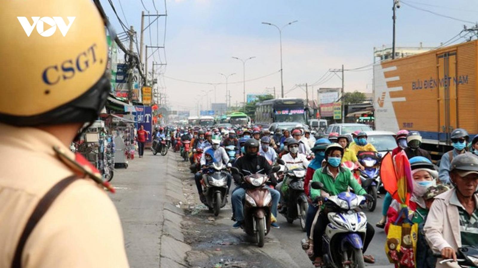 Những mô hình hay giúp tai nạn giao thông giảm sâu tại TPHCM