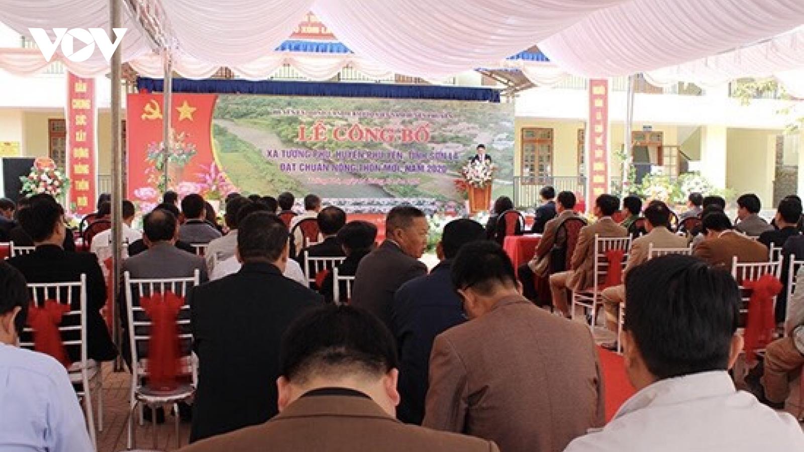 Sơn La công bố xã thứ 44 đạt chuẩn nông thôn mới