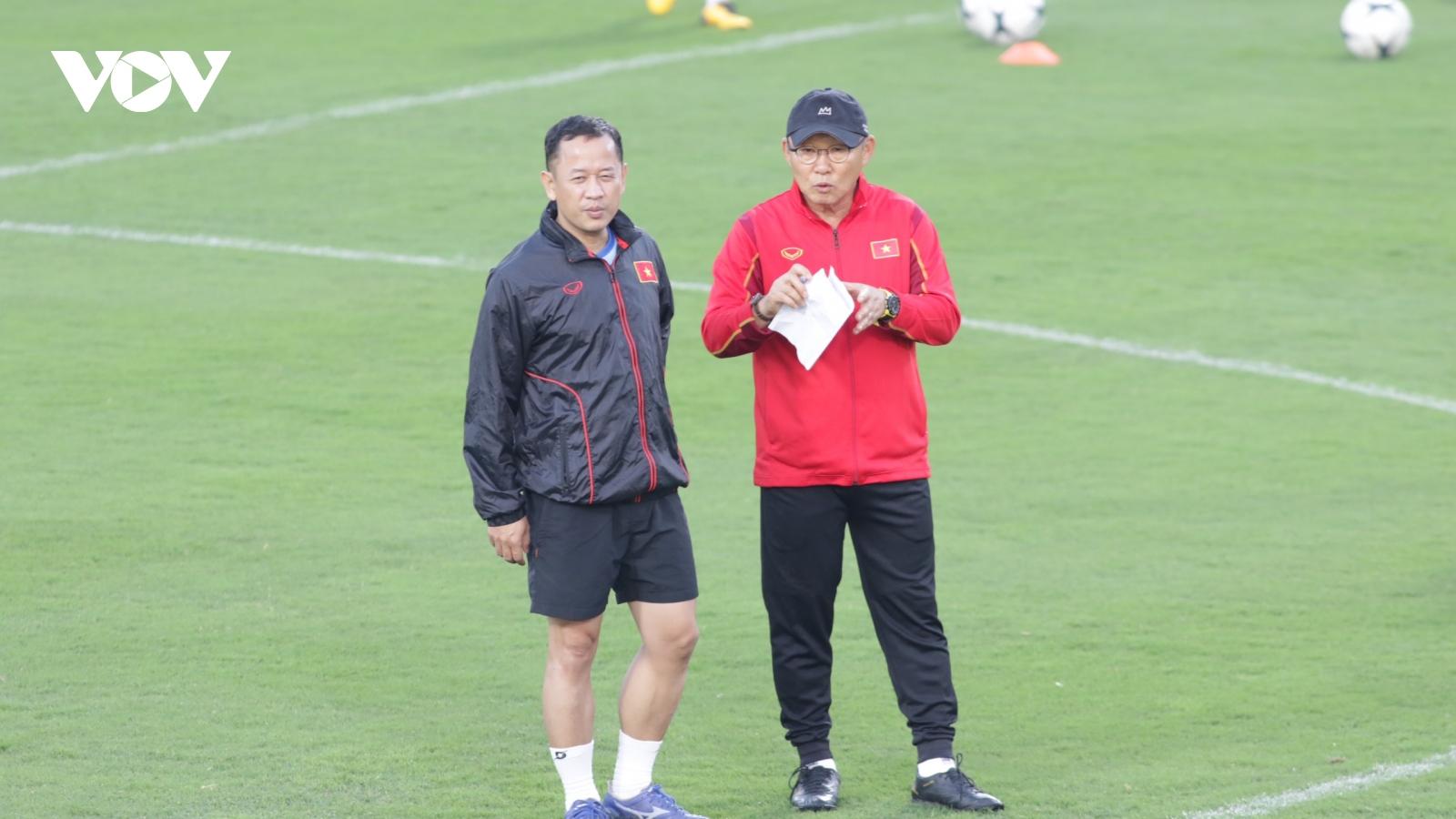 HLV Park Hang Seo: Tôi muốn có sự cạnh tranh công bằng ở ĐT Việt Nam