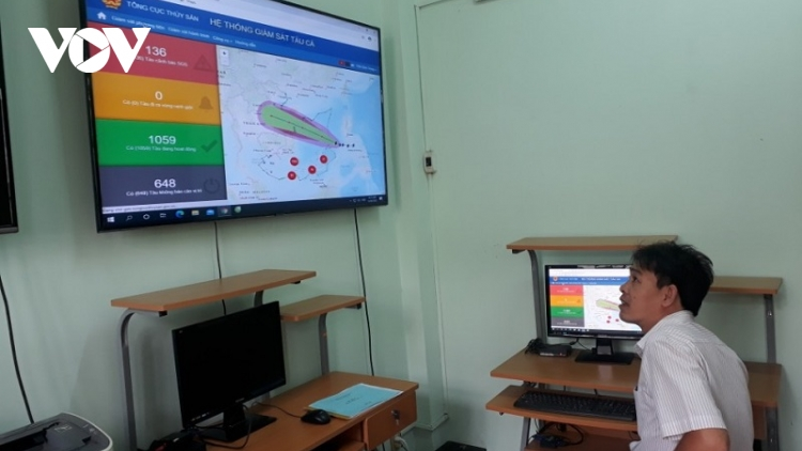 1.758 tàu cá Bình Thuận lắp đặt thiết bị giám sát hành trình