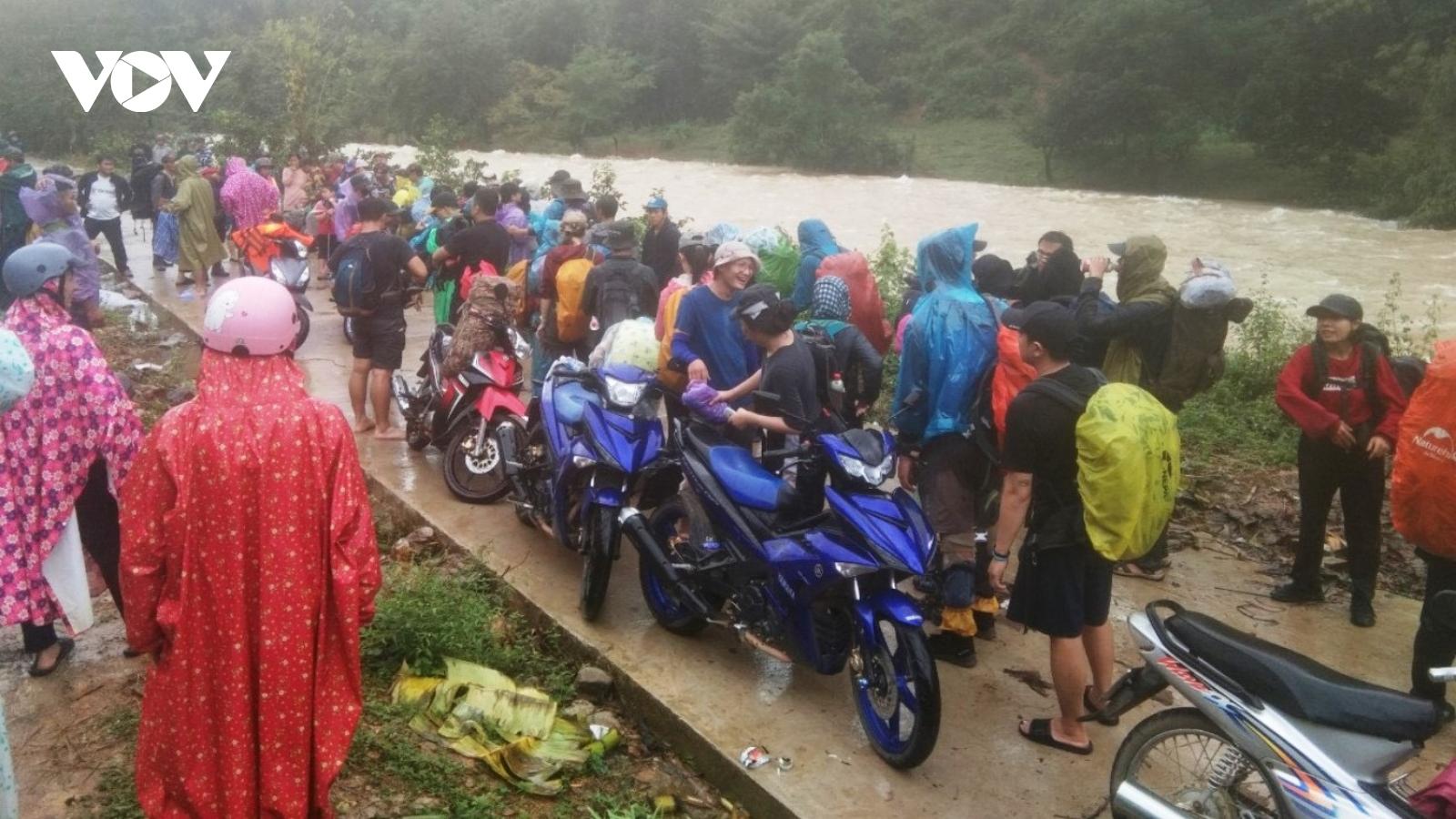 Đoàn du khách bị mất liên lạc ở Khánh Hòa đã trở về an toàn