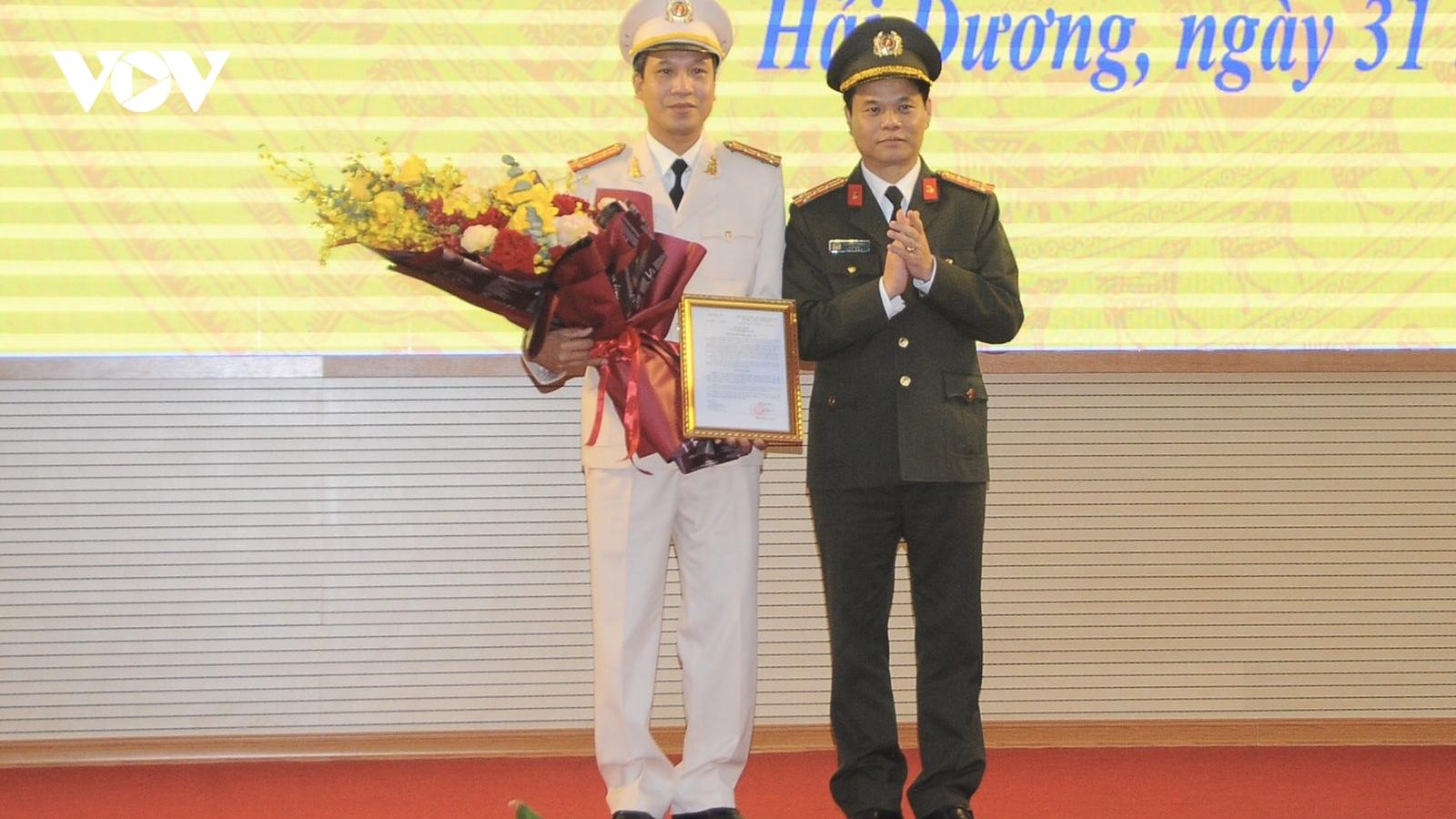 Hải Dương có tân Phó Giám đốc Công an tỉnh