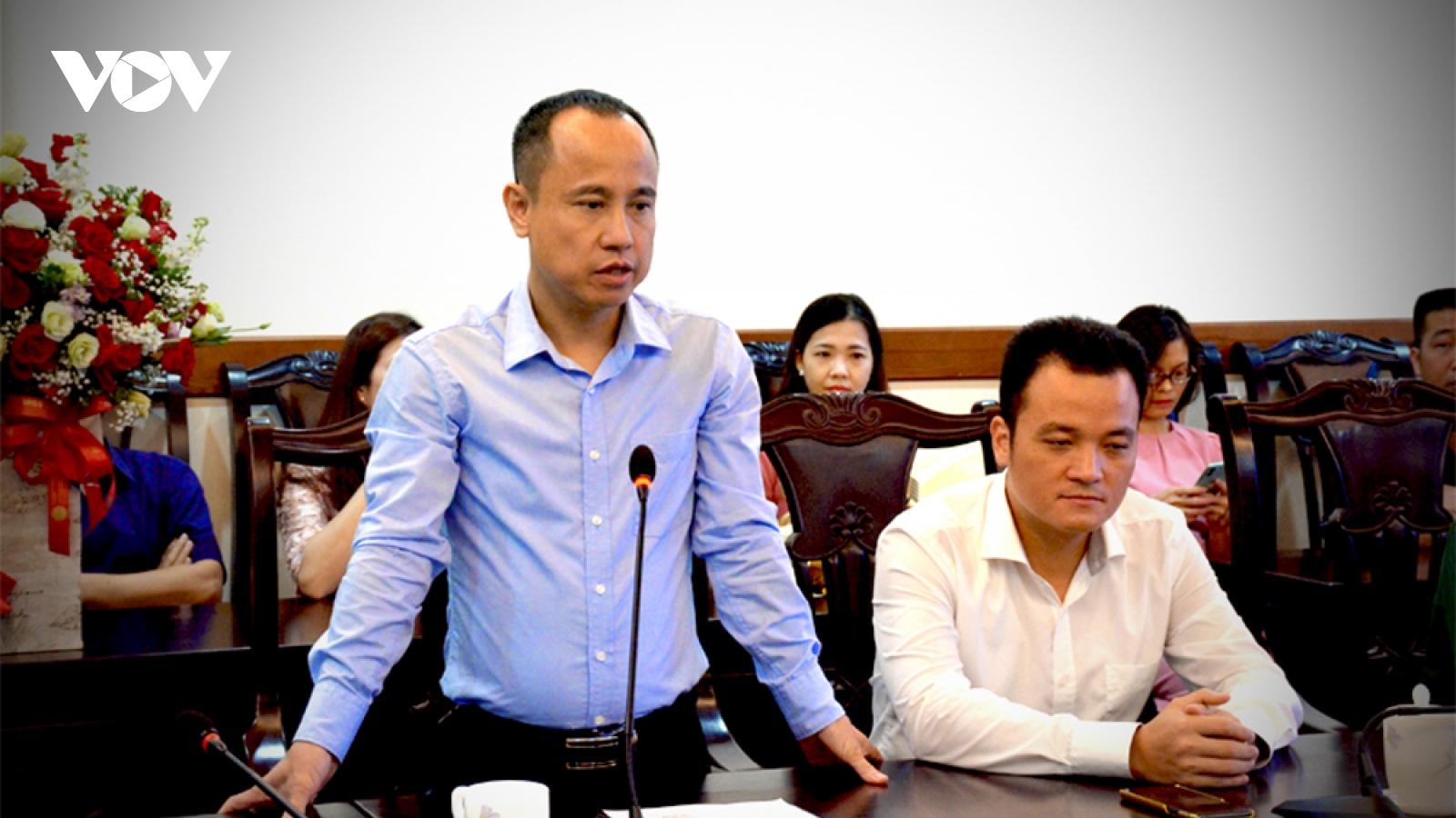 Ông Phan Quốc Nghĩa được ủy quyềnlà Người phát ngôn UBND tỉnh Lào Cai