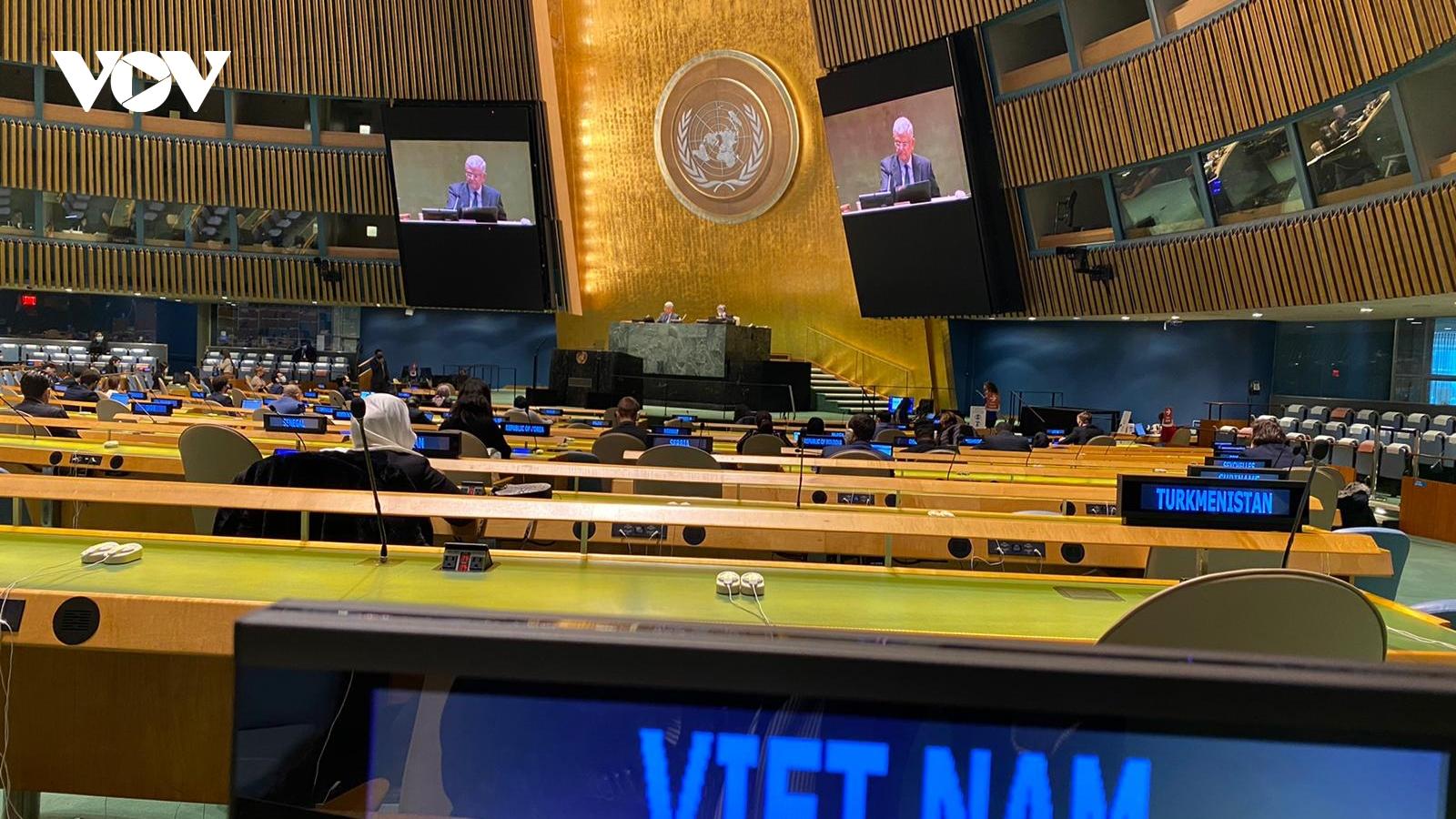 Liên Hợp Quốc thông qua Nghị quyết kép về Kiểm điểm kiến trúc xây dựng hòa bình