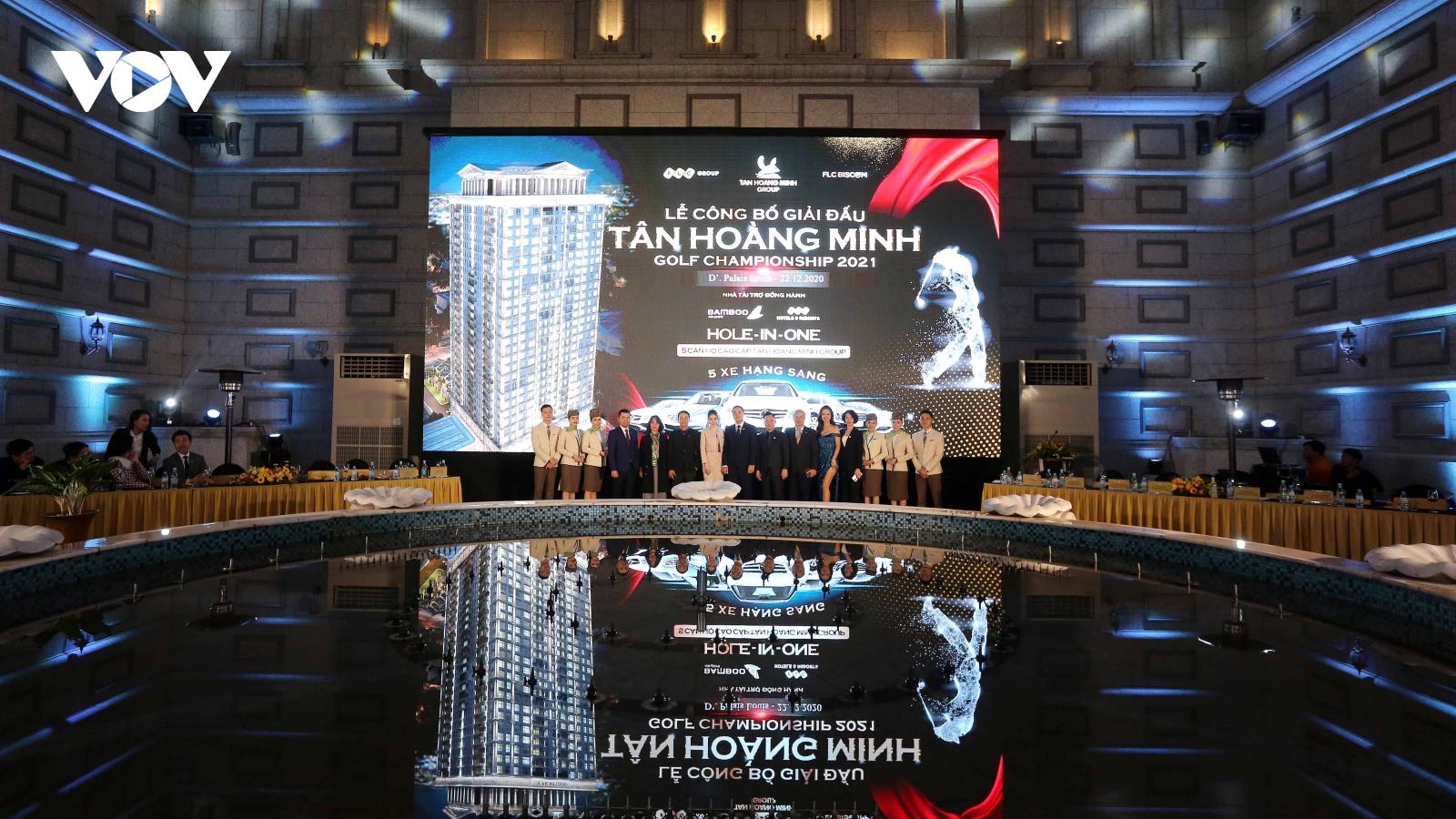 Phần thưởng HIO khủng- căn hộ cao cấp và xe sang tại Tân Hoàng Minh Golf Championship 2021