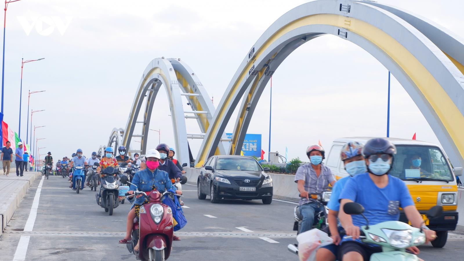 Cầu Quang Trung, Cần Thơ chính thức thông xe