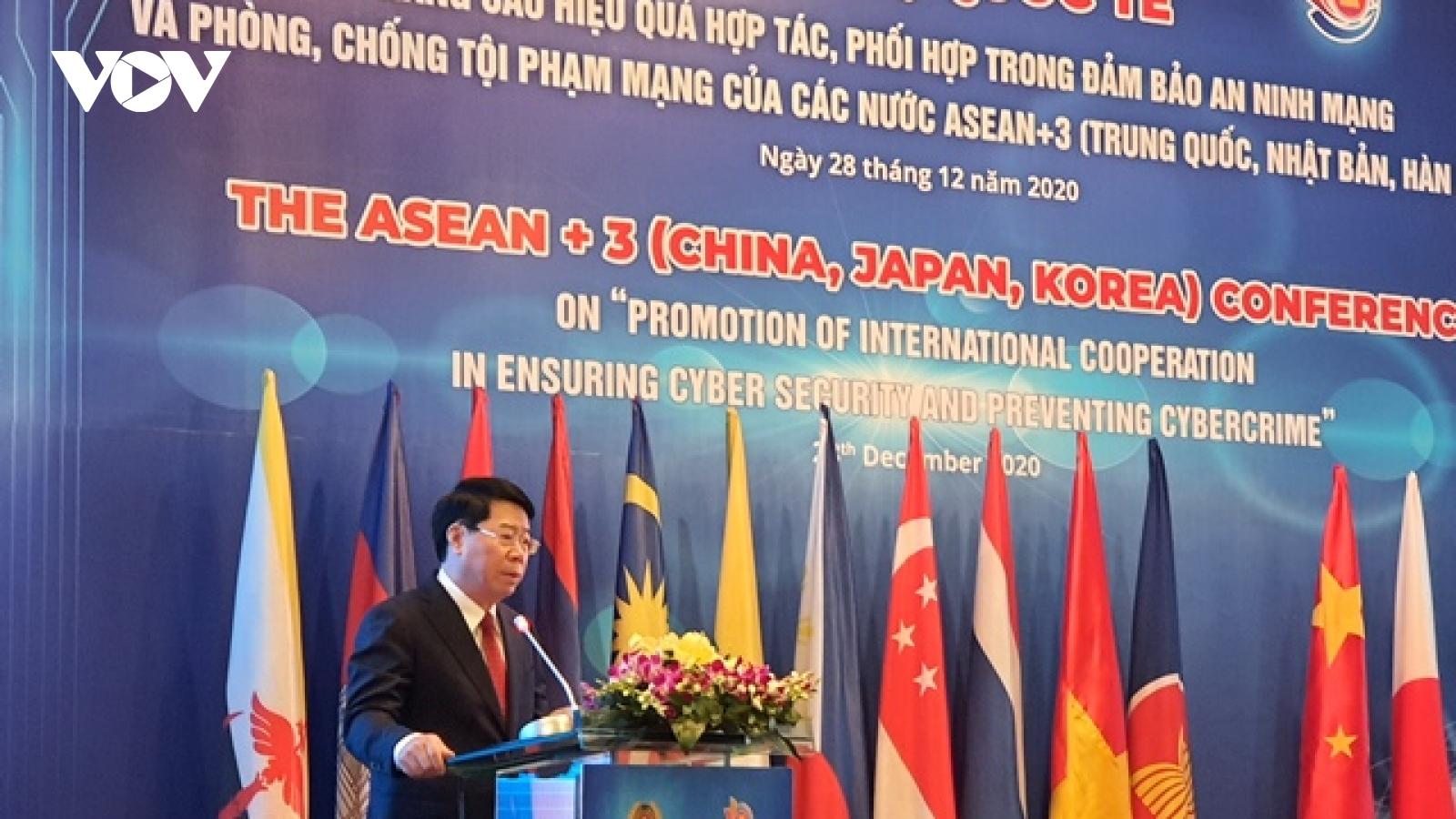 ASEAN+3: Tập trung phòng, chống tấn công mạng vào các hệ thống an ninh quốc gia