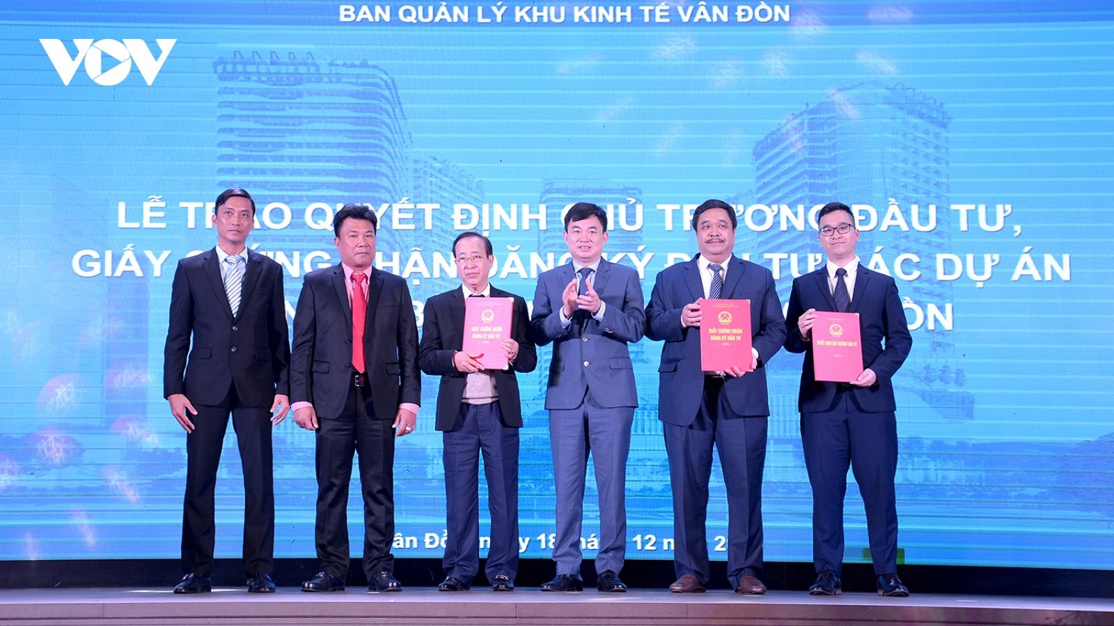 Công bố các quy hoạch phân khu thuộc Khu kinh tế Vân Đồn