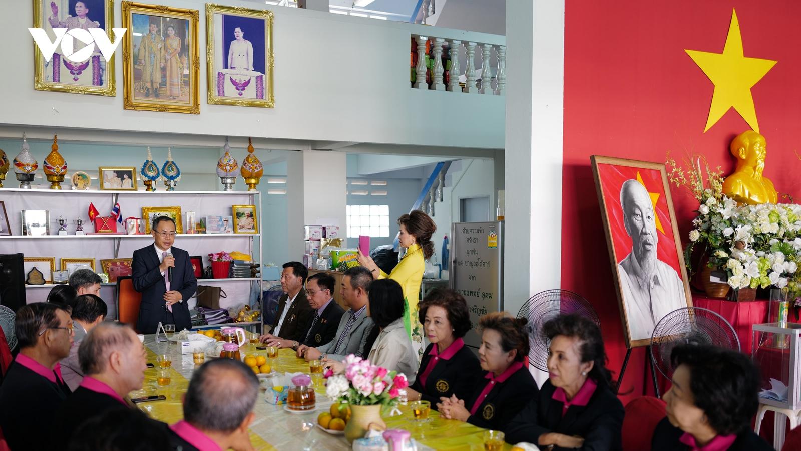 Cộng đồng Việt kiều góp phần thúc đẩy quan hệ Việt Nam - Thái Lan