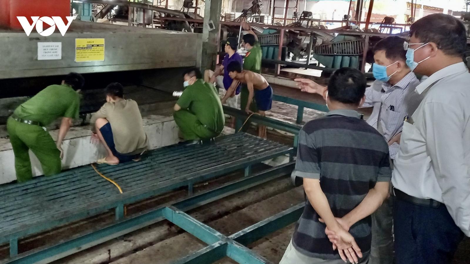 Công nhân 15 tuổi tử vong do tai nạn lao động