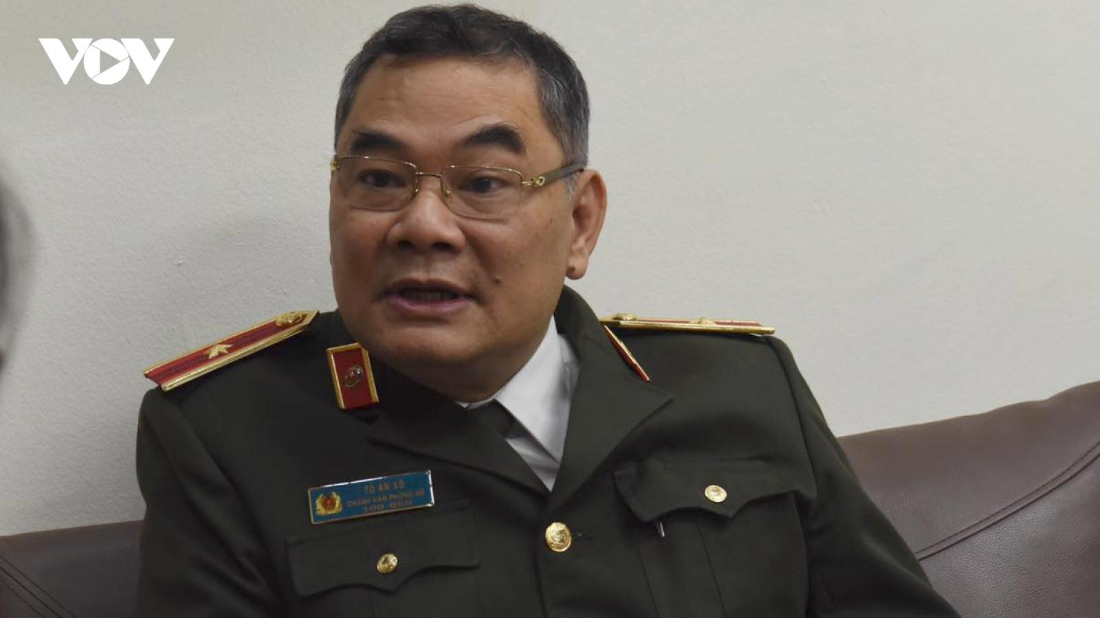 Thiếu tướng Tô Ân Xô: Lực lượng công an đã xác minh, thẩm tra hàng trăm nhân sự các cấp