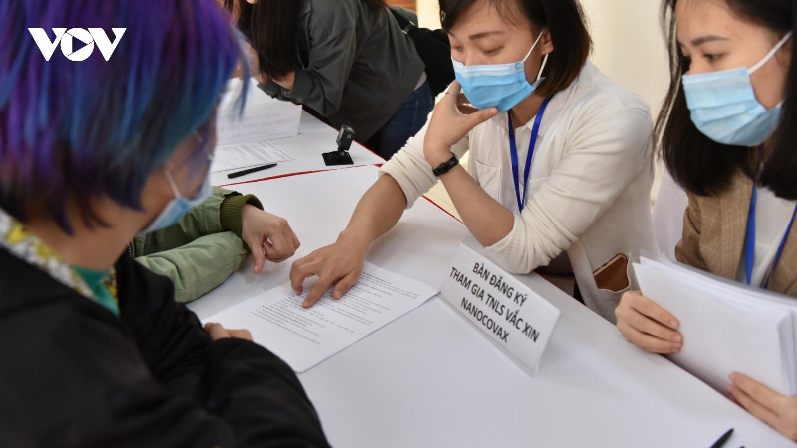 Quy trình tiêm thử nghiệm vaccine Covid-19 Việt Nam trên người