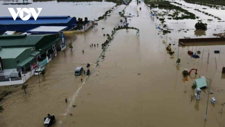 Flooding in central Vietnam leaves four dead, one injured