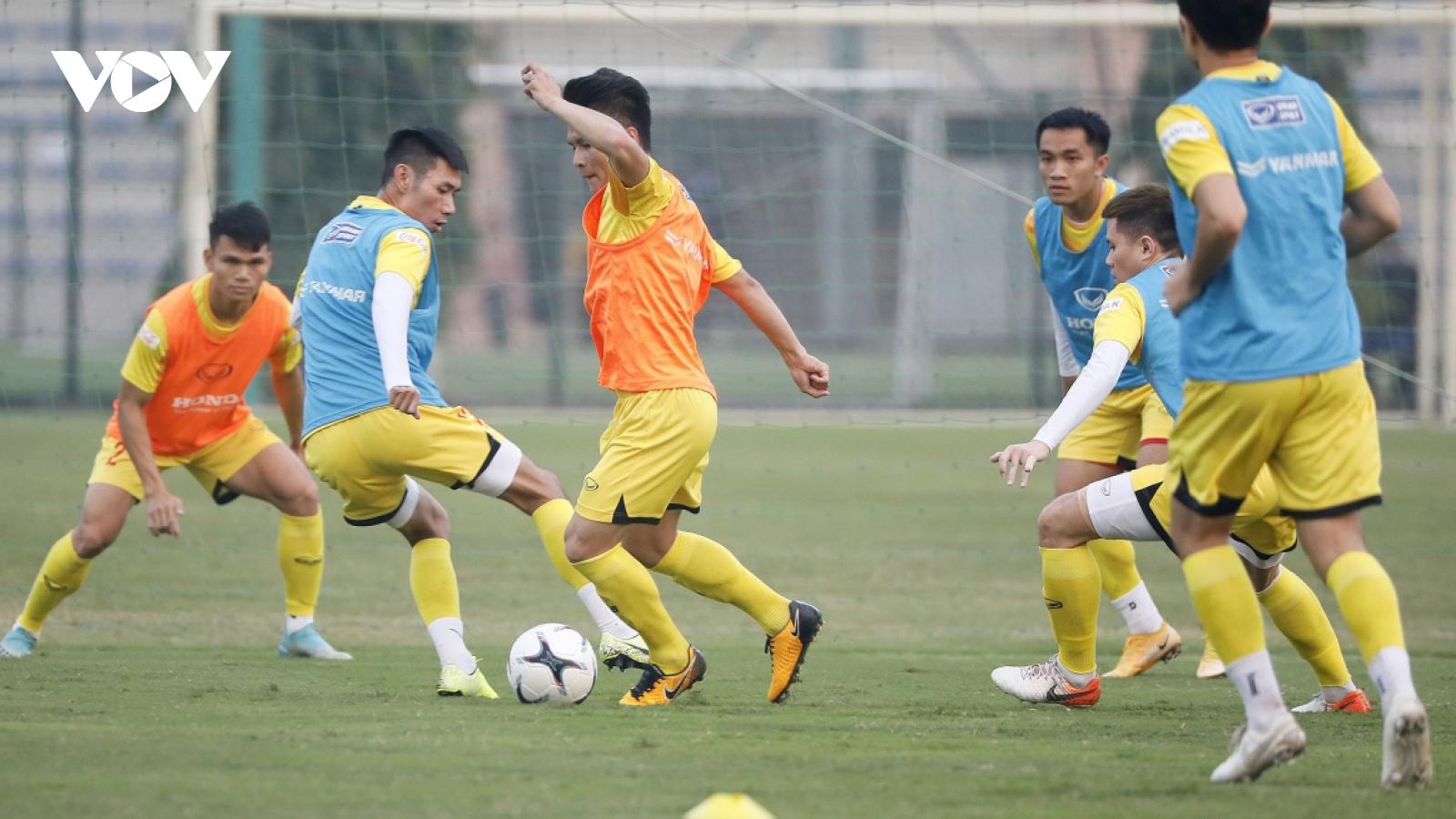 National team launch training camp in Hanoi