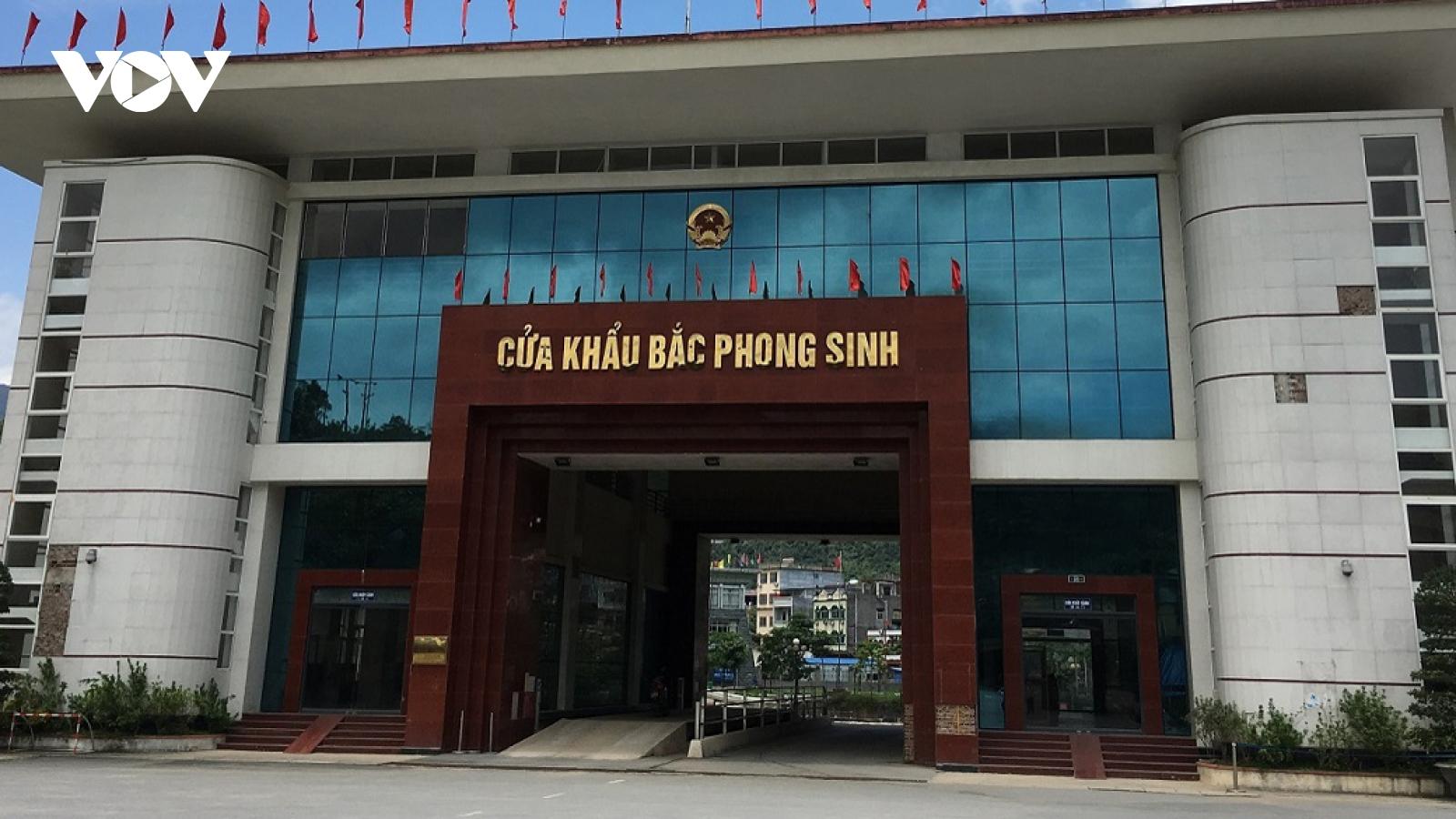 Xem xét thay thế cán bộ để xảy ra buôn lậu tại cửa khẩu Bắc Phong Sinh