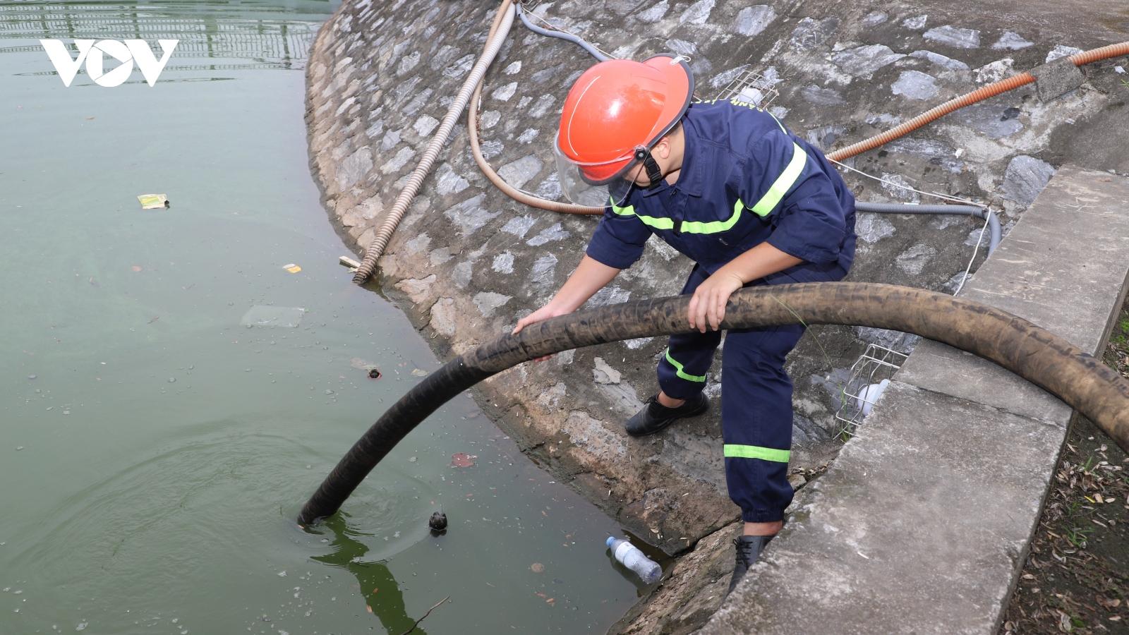 Thiếu hụt  nguồn nước phục vụ chữa cháy ở Yên Bái