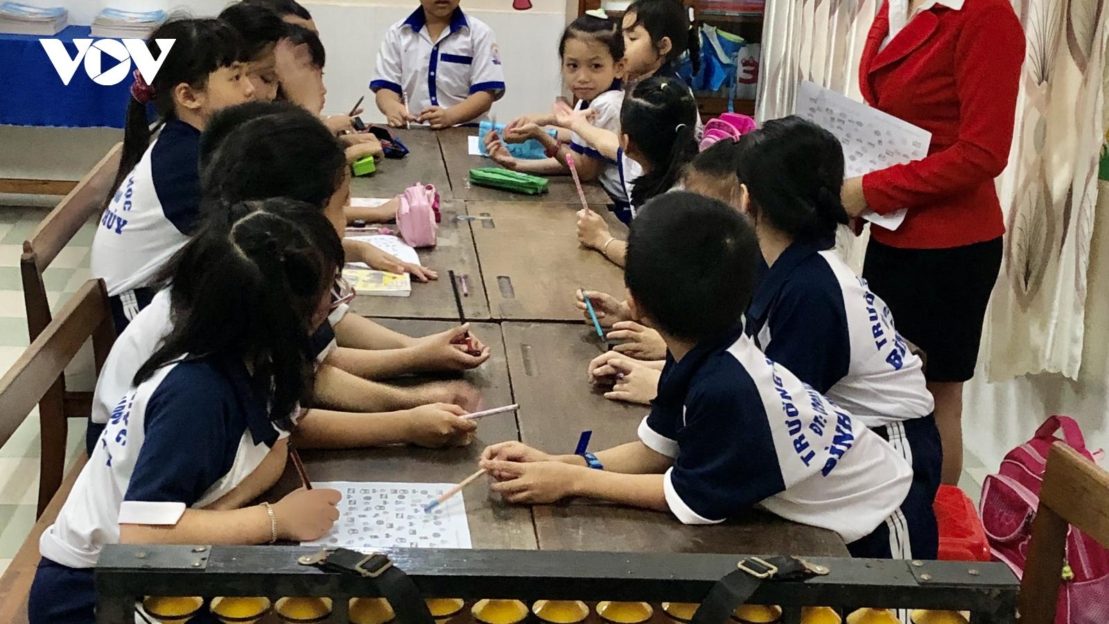 """Trường Tiểu học Bình Thủy, Cần Thơ: """"Đổi mới"""" giúp nâng cao sáng tạo trong học sinh"""