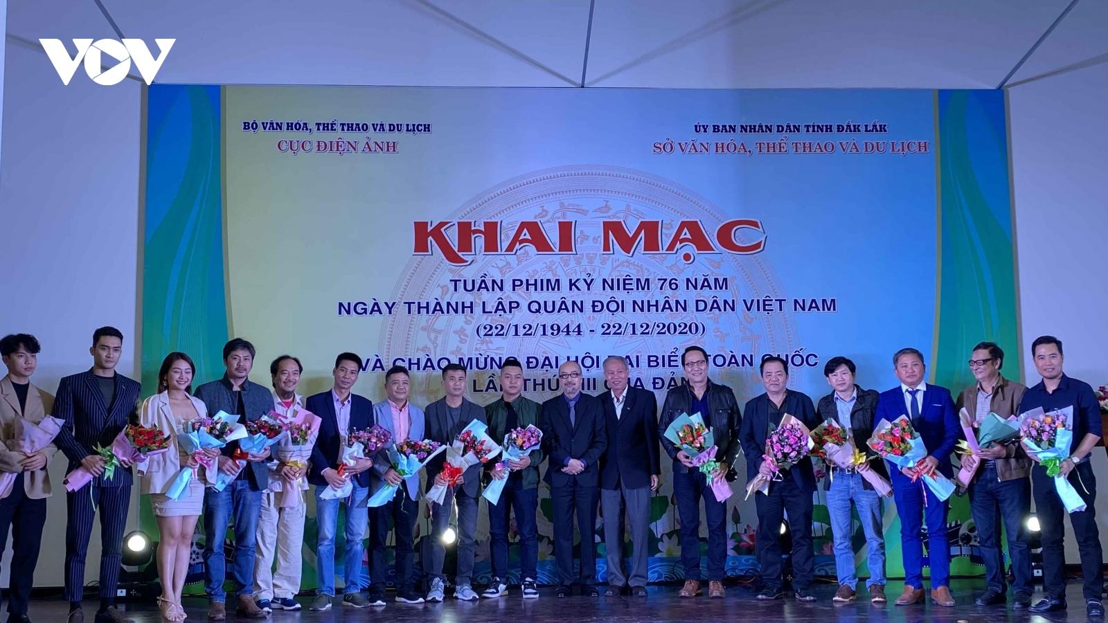 Khai mạc Tuần lễ phim kỷ niệm 76 năm thành lập QĐND Việt Nam