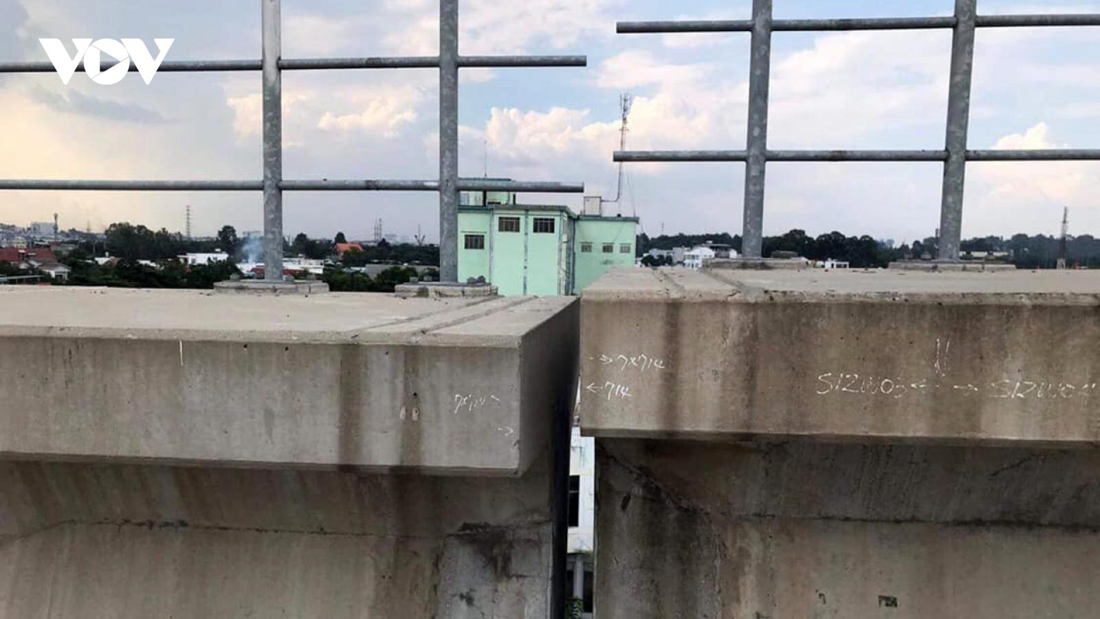 Giới chuyên giatìm nguyên nhân sập dầm cầu Metro số 1 Bến Thành-Suối Tiên