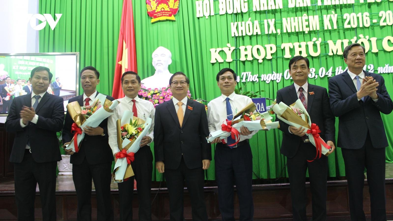 Cần Thơ bầu Phó Chủ tịch HĐND và Phó Chủ tịch UBND thành phố