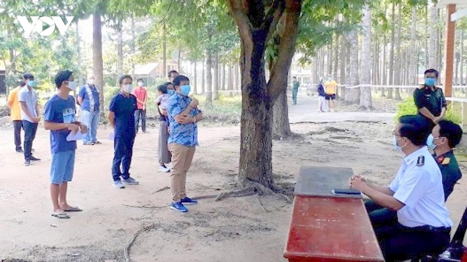 63 công dân về từ Indonesia hoàn thành cách ly sau 28 ngày