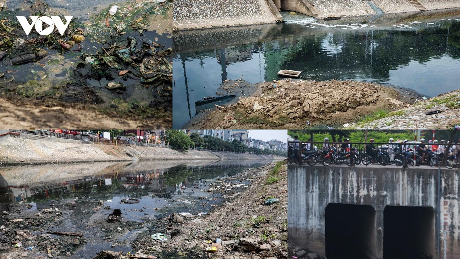 Tô Lịch vẫn là dòng sông chết dù nhiều phương án cải tạo được đưa ra