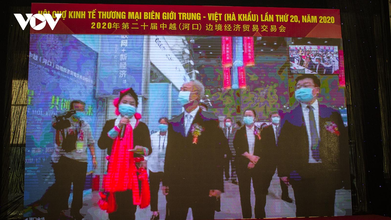 Khai mạc trực tuyến Hội chợ biên giới Việt – Trung 2020