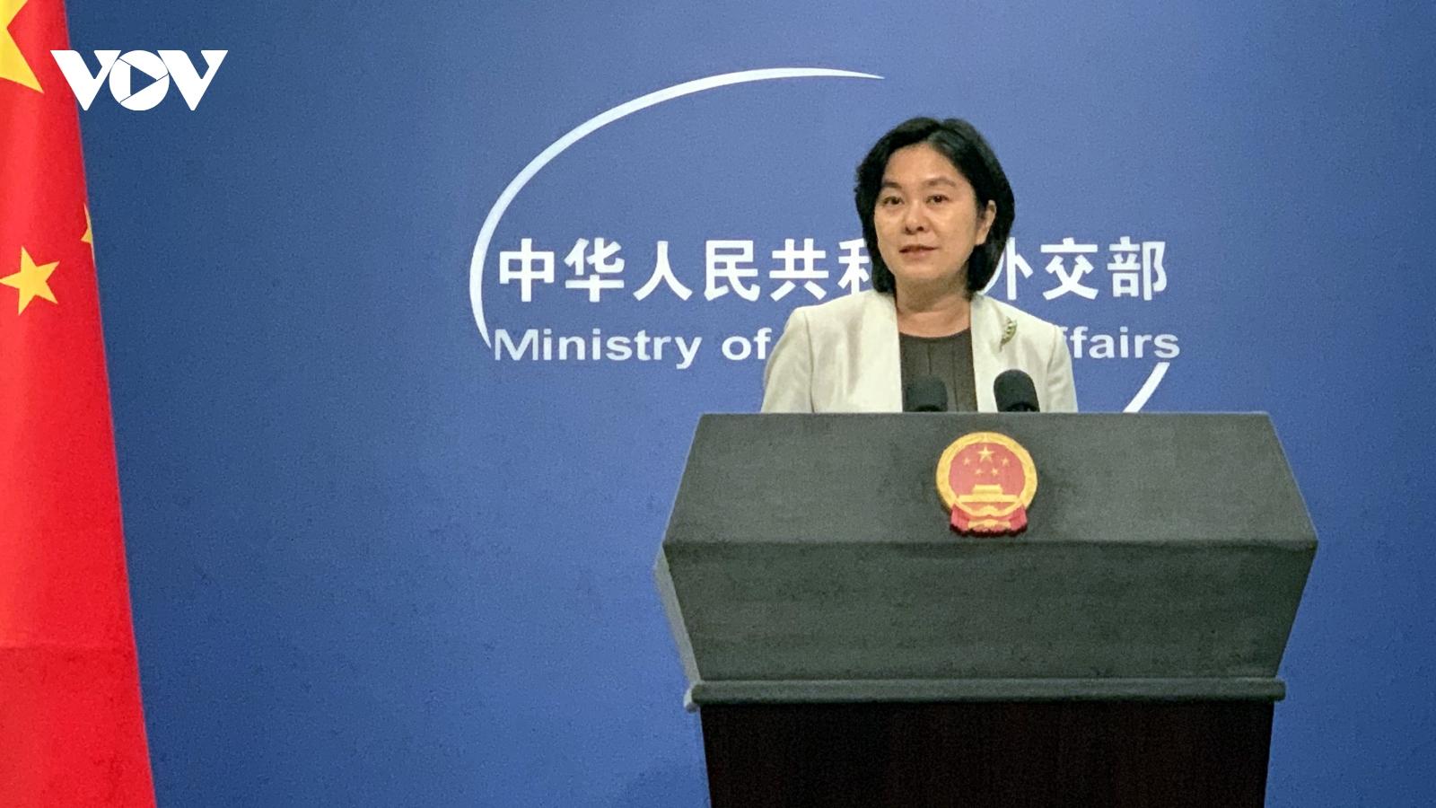 """""""Mỹ tách rời với Trung Quốc là tách rời với thế giới, với tương lai"""""""