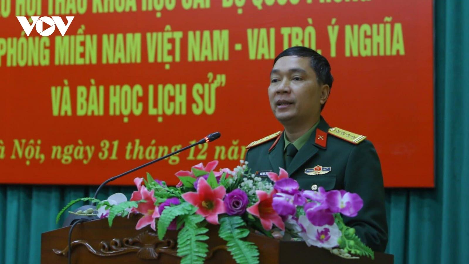 Hội thảo kỷ niệm 60 năm ngày thành lập Quân giải phóng miền Nam Việt Nam