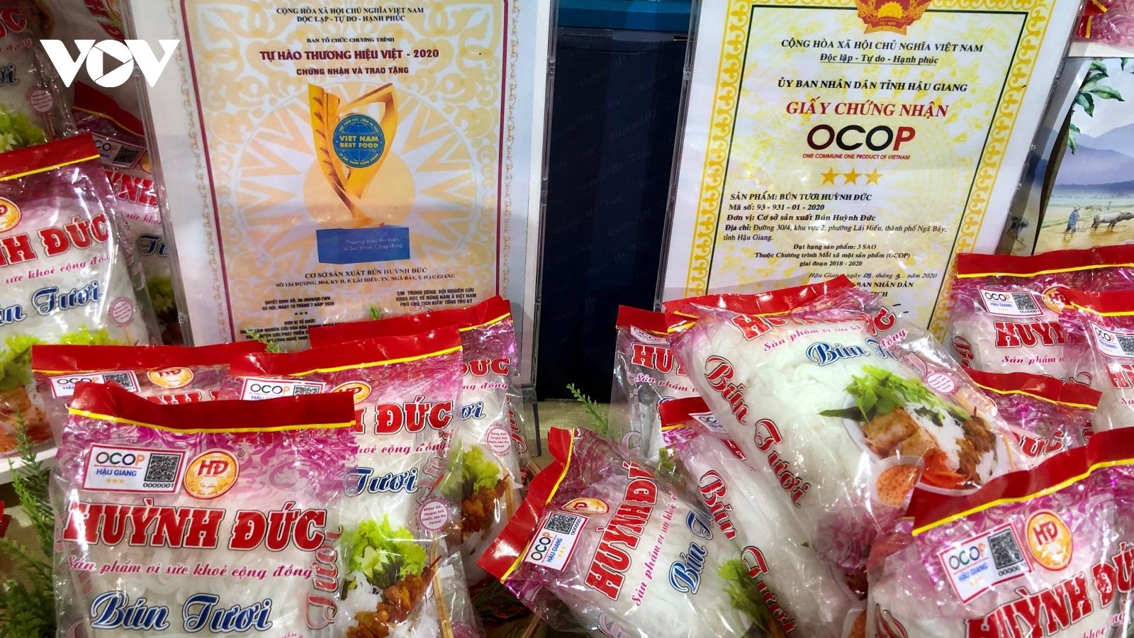 Hậu Giang tổ chức Hội chợ Công thương và sản phẩm OCOP khu vực phía Nam