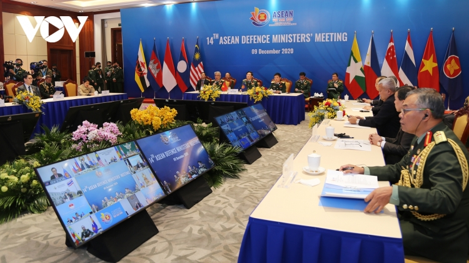 Hoa Kỳ, Trung Quốc, Nhật Bản ủng hộ vai trò trung tâm của ASEAN