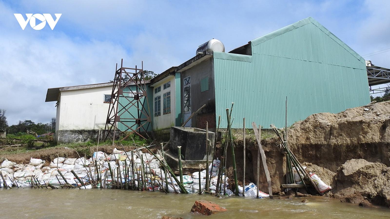 Kon Tum ưu tiên khắc phục công trình thiết yếu sau mưa bão