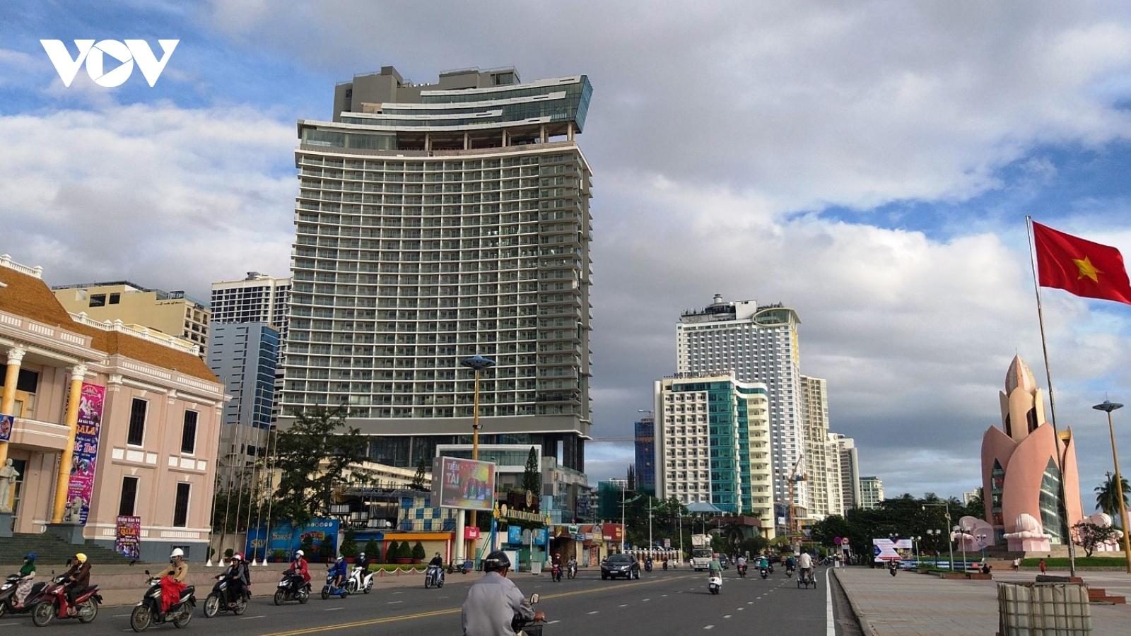 Khánh Hòa tăng trưởng kinh tế âm trong năm 2020