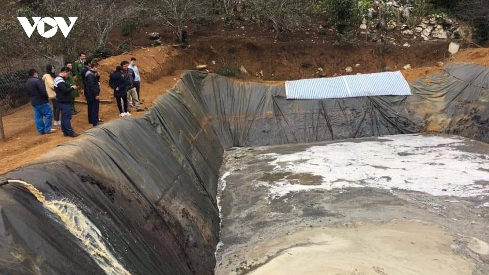 Đình chỉ các cơ sở sản xuất, kinh doanh có nguy cơ gây ô nhiễm nguồn nước ở Sơn La