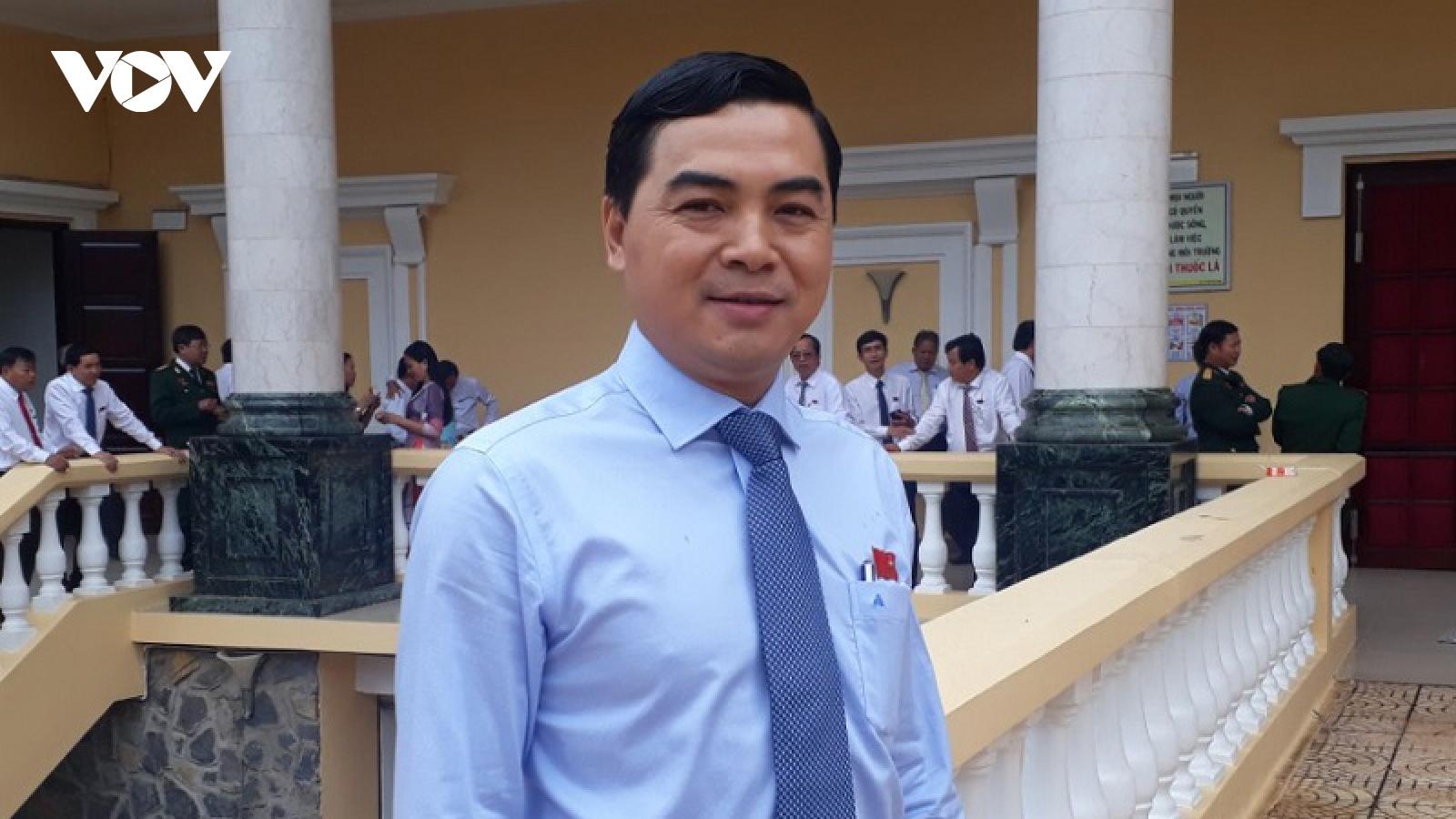 Ông Nguyễn Hoài Anh được bầu giữ chức Chủ tịch HĐND tỉnh Bình Thuận