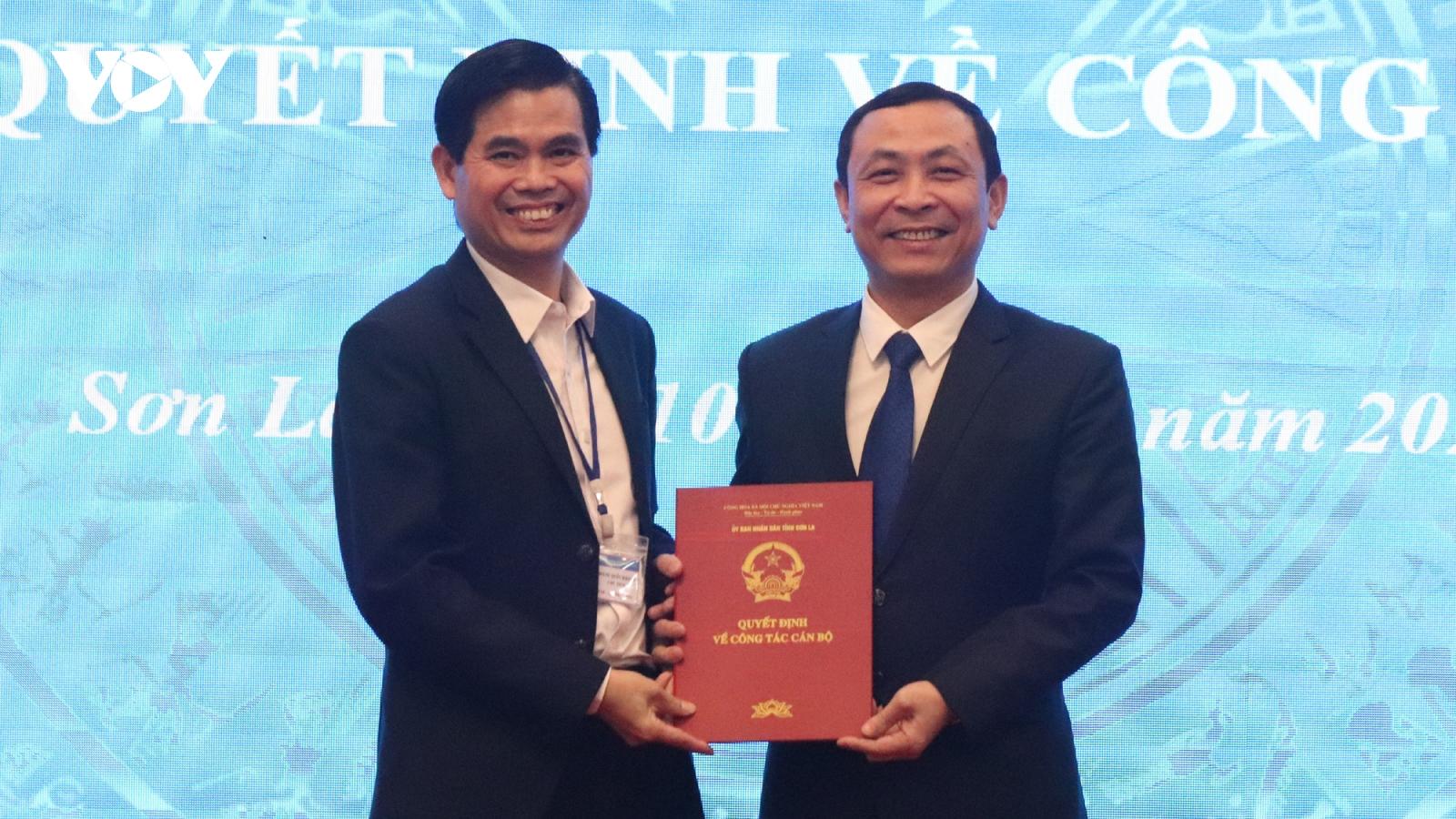 Bí thư Huyện ủy Mường La giữ chức Giám đốc Sở Tài chính Sơn La