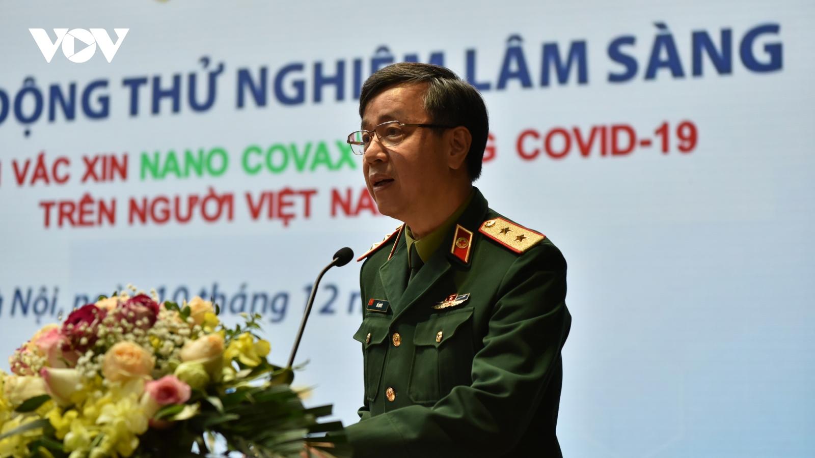 """Trung tướng Đỗ Quyết: Hôm nay, Việt Nam bắt đầu thử nghiệm """"vũ khí"""" chống dịch Covid-19"""