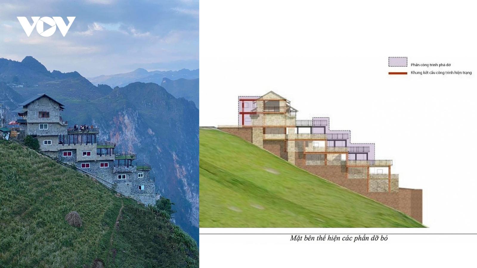 Hà Giang khẳng định Mã Pì Lèng Panorama cải tạo đúng như phương án đã được phê duyệt