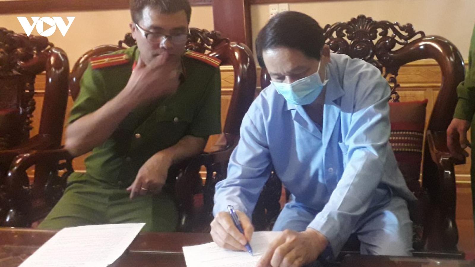 Sai phạm trong đấu thầu thuốc, thêm 2 cán bộ Sở Y tế Đắk Lắk bị khởi tố