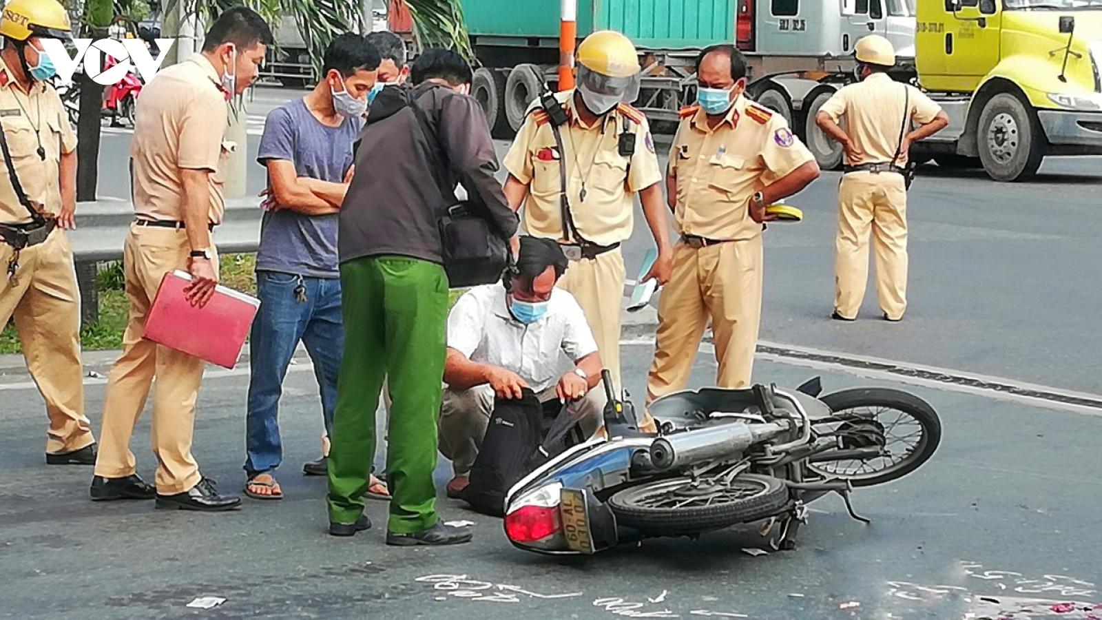 Một sinh viên tử vong tại chỗ sau va chạm giao thông