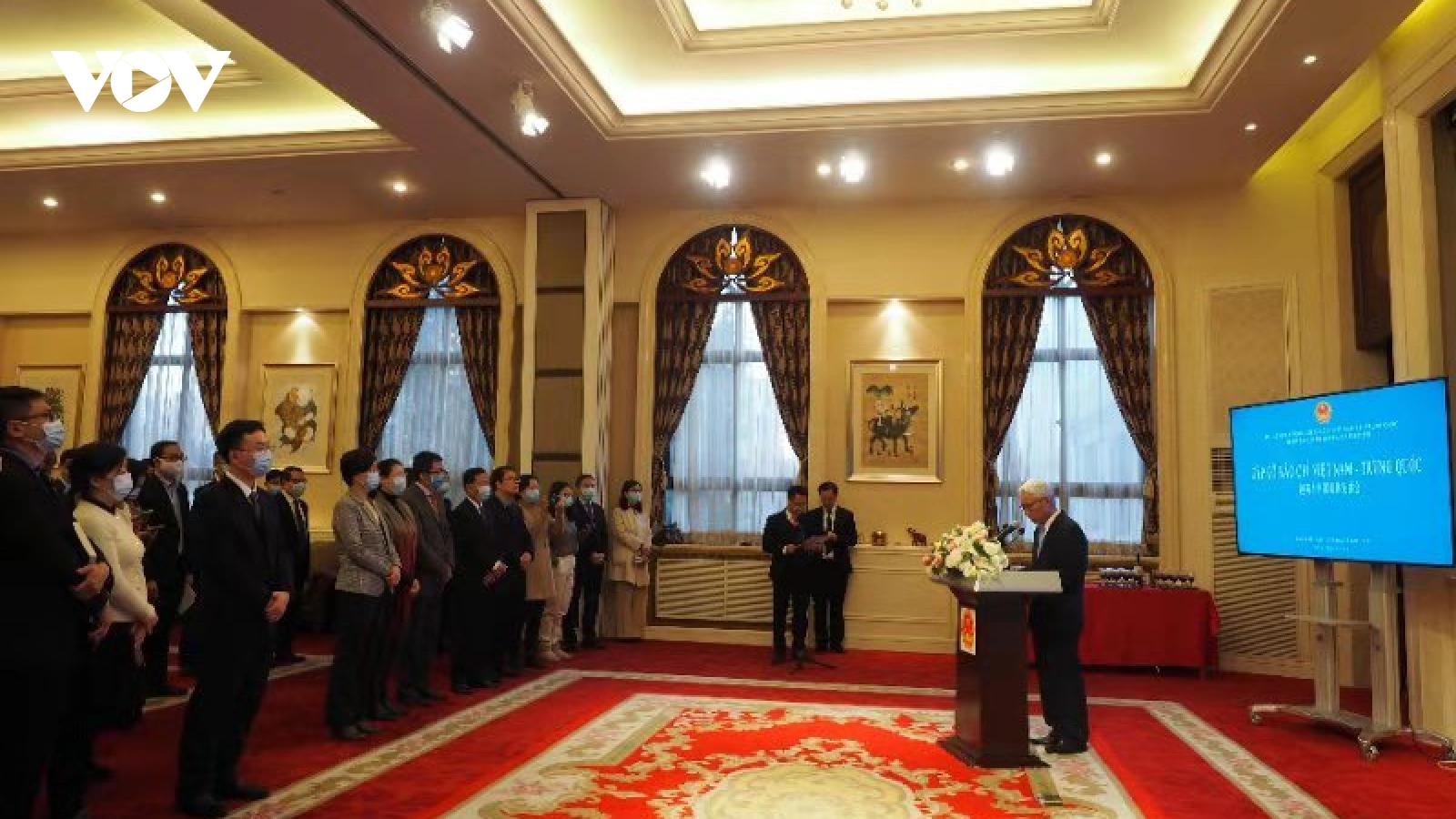 Đại sứ Phạm Sao Mai gặp gỡ báo chí Trung Quốc trước thềm năm mới 2021