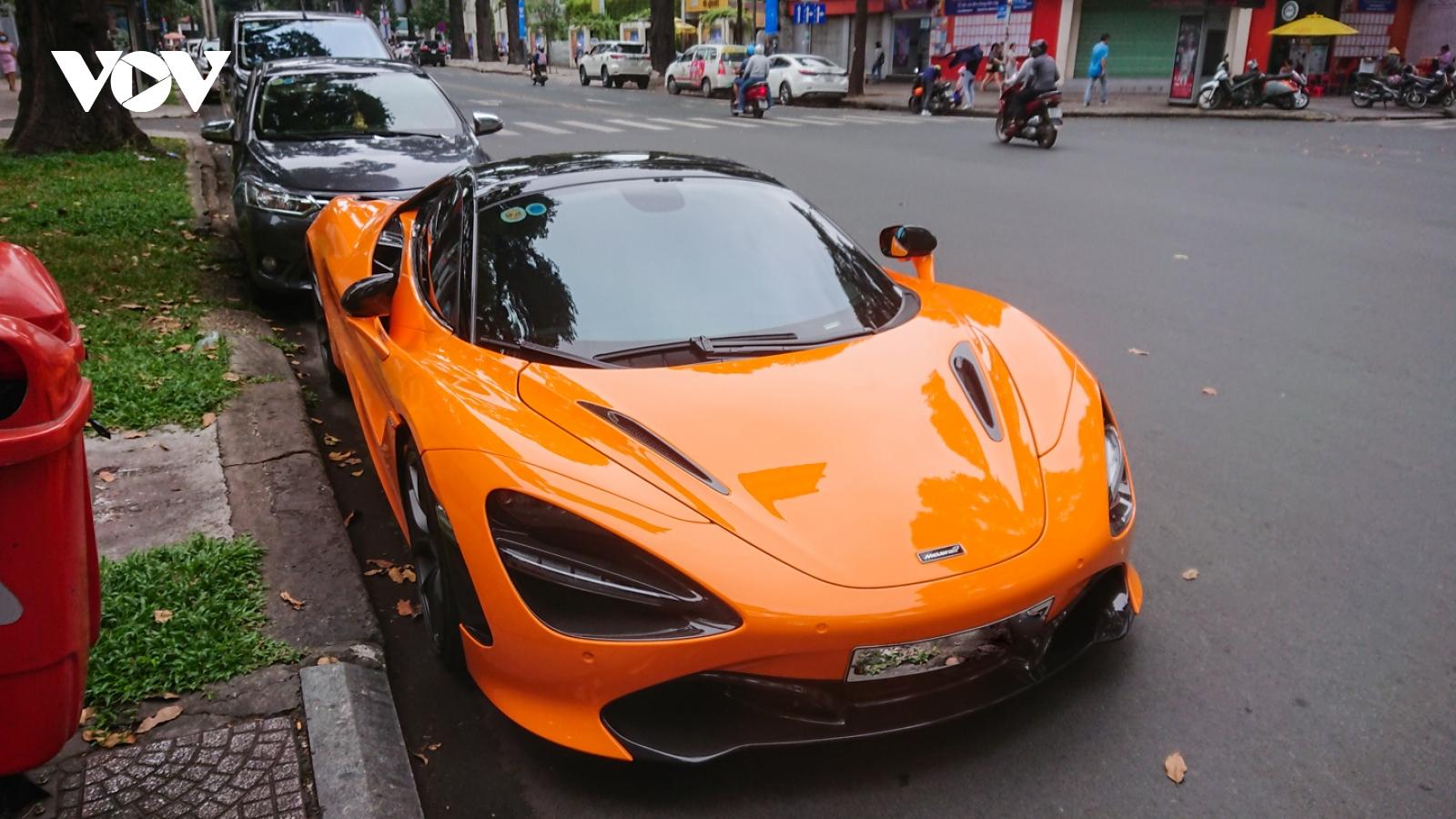 Cận cảnh McLaren 720S Spider hơn 20 tỷ của ca sĩ Đoàn Di Băng