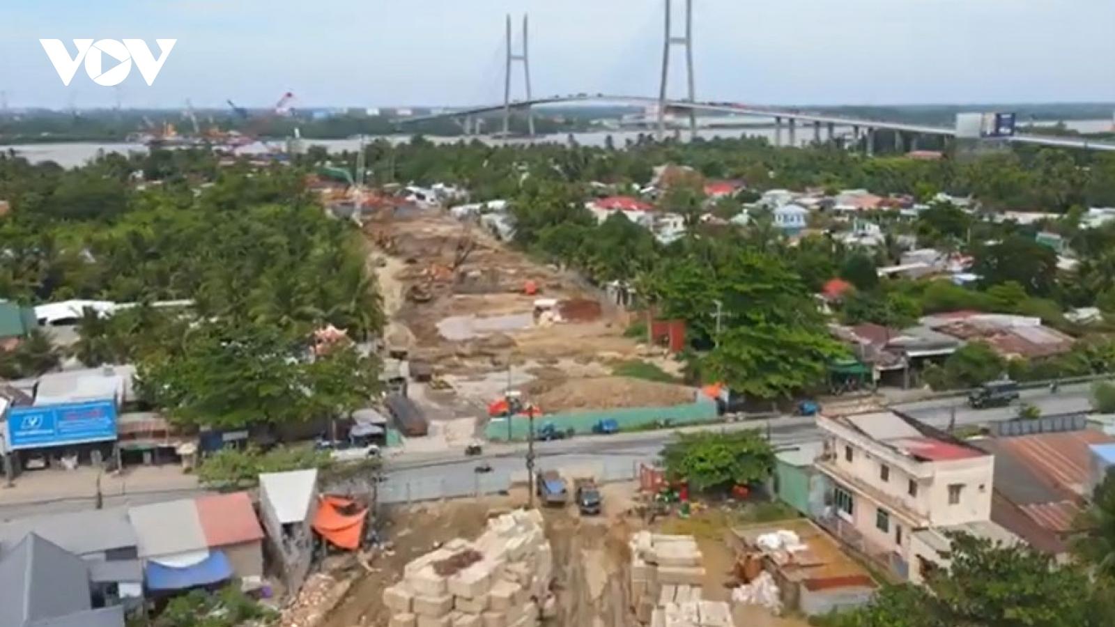 Cơ bản giải phóng xong mặt bằng để khởi công đường cao tốc Mỹ Thuận – Cần Thơ